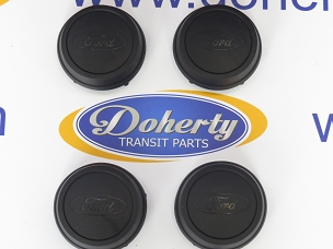 A set of genuine ford transit center caps to suit all vans from [2000 -2006]