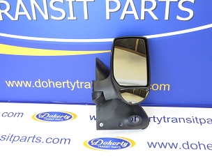 Ford transit complete manual wing mirror to suit all vans from | 2000-2006 |Driver Side/Short Arm