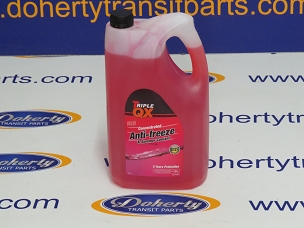 Ford transit custom anti-freeze to suit all vans from [2013 - 2016] 5 Litre/Concentrate